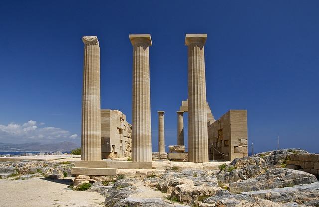 chrám v Řecku