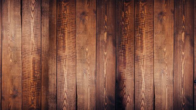 dřevěné parkety v barvě ořech