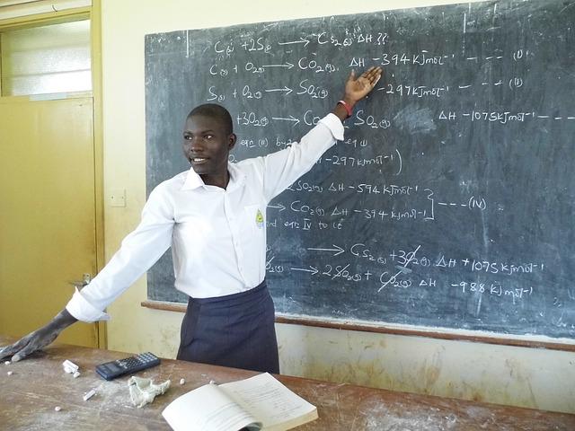 africký učitel