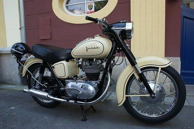 ruský motocykl