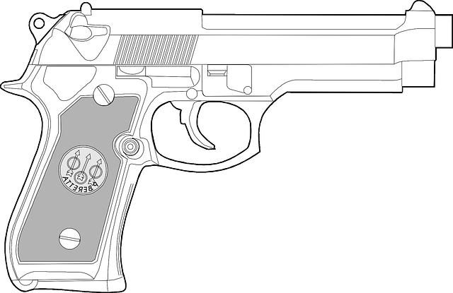revolver zbraň