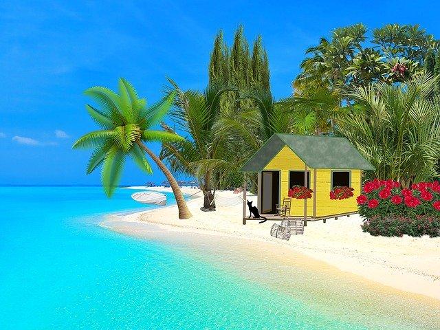 plážový domek