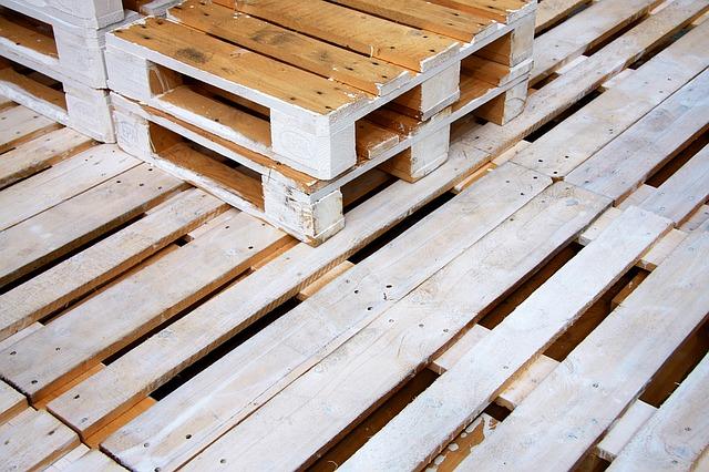 palety dřevěné