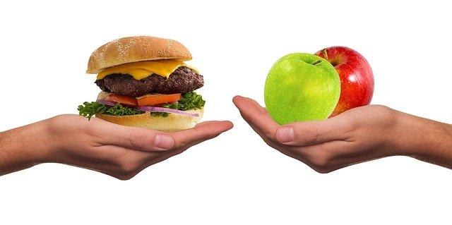 Zdravé versus nezdravé potraviny