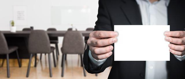 podnikatel v kanceláři