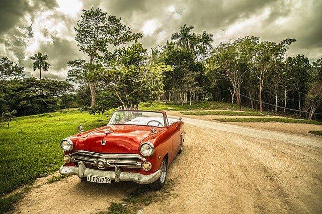 starý auto