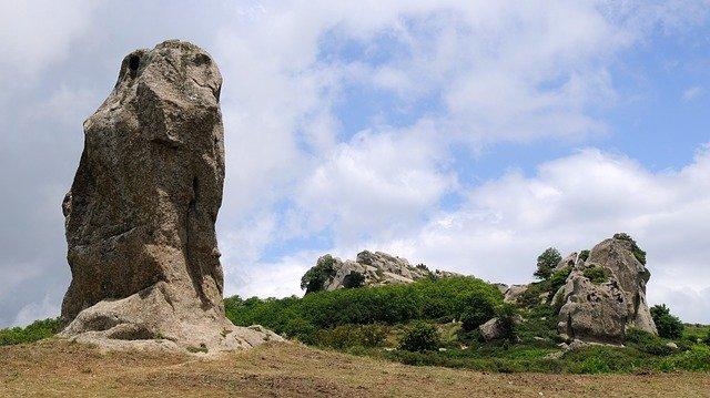 skalní útvary