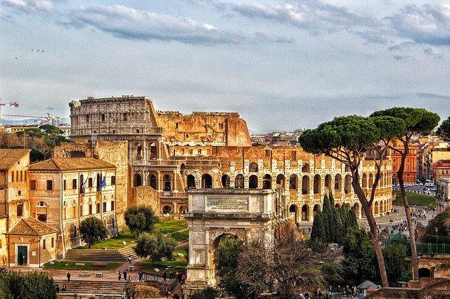 památky v Římě